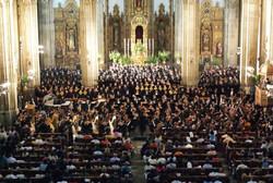 Orquesta en Catedral de Coyoacán