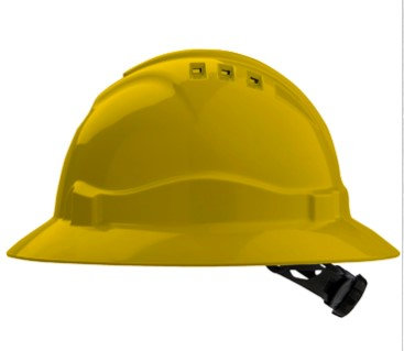 V6 Full Brim Hard Hat 2