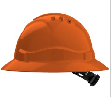 V6 Full Brim Hard Hat 5