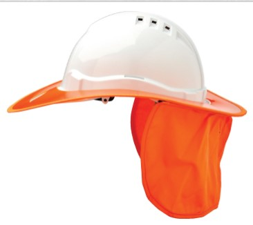 Shade Halo V6 Plastic Hard Hat Brim V6BP 1