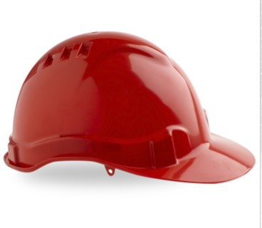 Vented Hard Hat with Pinlock Harness PHHV6 7
