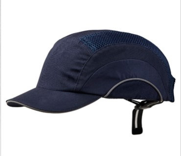 Bump Cap Short Peak Navy 1