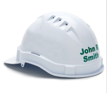 Printed Hard Hats 2