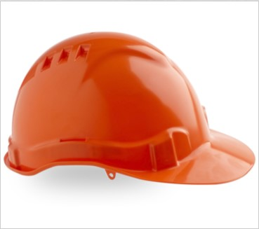 Vented Hard Hat with Pinlock Harness PHHV6 4
