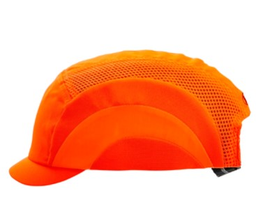 Bump Cap Micro Peak Hi Vis Orange BCFOMP 1 of 1