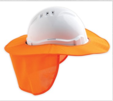 Detachable Hard Hat Brim 1