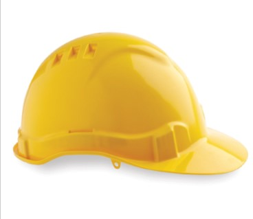 Vented Hard Hat with Pinlock Harness PHHV6 3