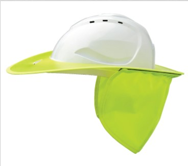 Shade Halo V9 Plastic Hard Hat Brim V9BP 1