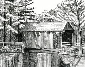 Covered Bridge Old Sturbridge Village
