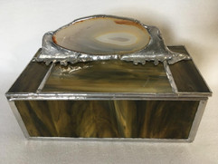 Box with Geode