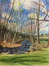 First Blush of Spring - Charter Oak Park