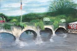 Bridge of Flowers 2020, Shelbourne Falls MA