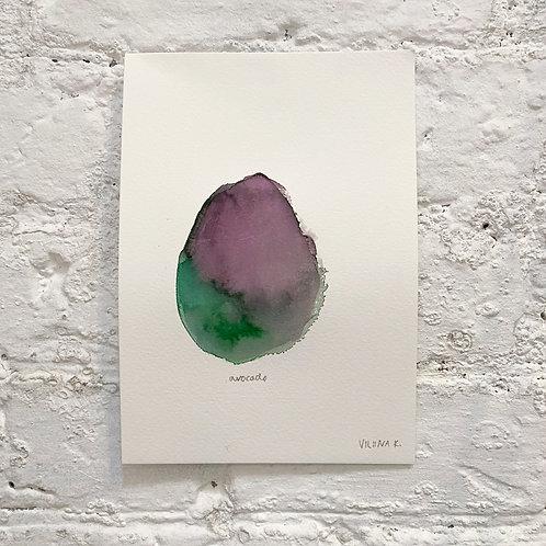 AVOCADO 2 / painting