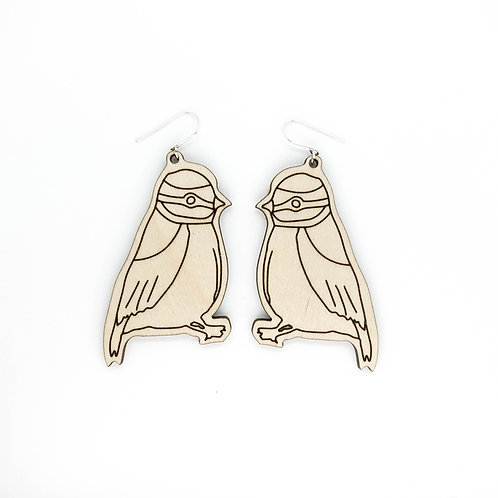 LITTLE BIRD 1 / earrings