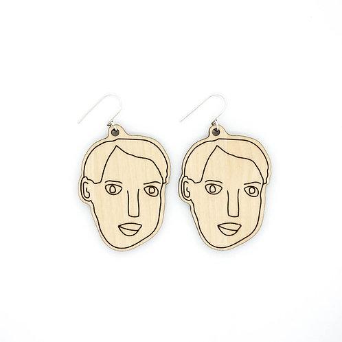 OSKAR / earrings