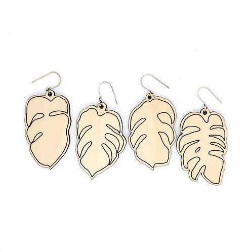 MONSTERA / earrings