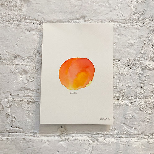 PEACH 1 / painting