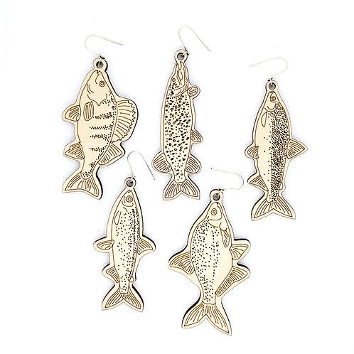 FISH / earrings