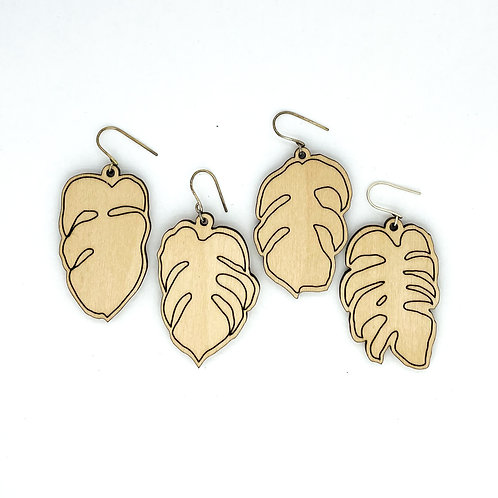 MONSTERA / earrings