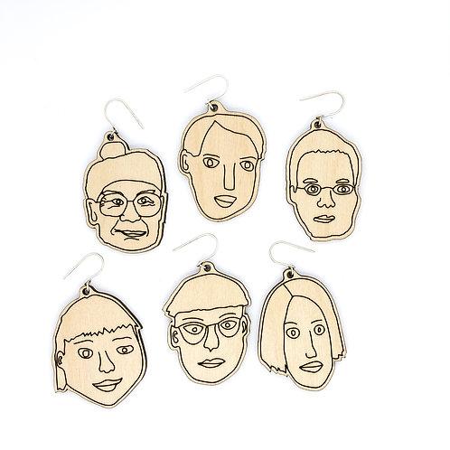 FACE / earrings