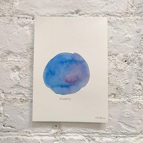 BLUEBERRY 2 / painting