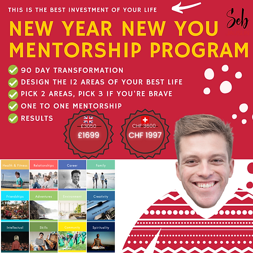 Design Your Best Life Mentorship Program