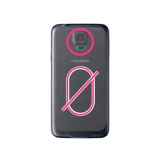 Remplacement Hublot Arrière Galaxy S5 Mini