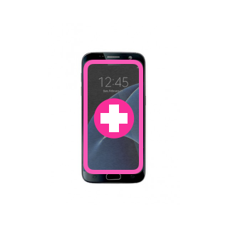Changement Vitre + Ecran Galaxy S7 Edge