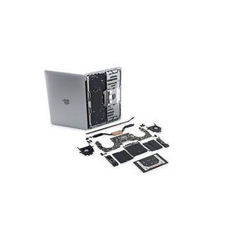 Réparation problème rétro-éclairage MacBook Pro