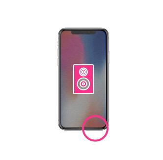 Changement Haut-parleur iPhone X