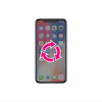 Remise à Niveau Logiciel iPhone X
