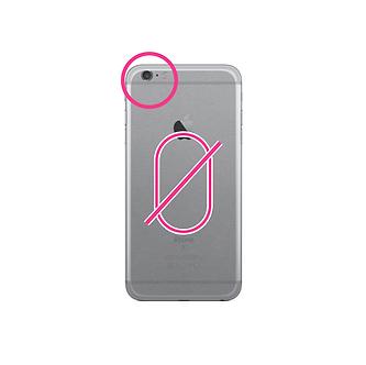 Remplacement Hublot Arrière iPhone 6S Plus