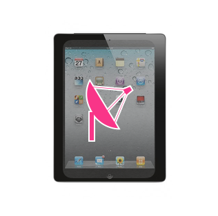 Changement Antenne Wi-Fi iPad 2