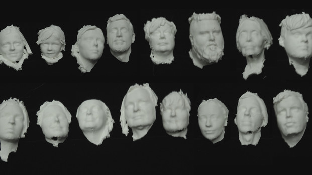 The new head prints from FACT by James @ Fablab