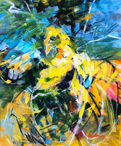 Flight Oil on Canvas 24 x 20 Sold