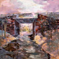 Twilight on Blue Ridge Parkway, NC 48 x