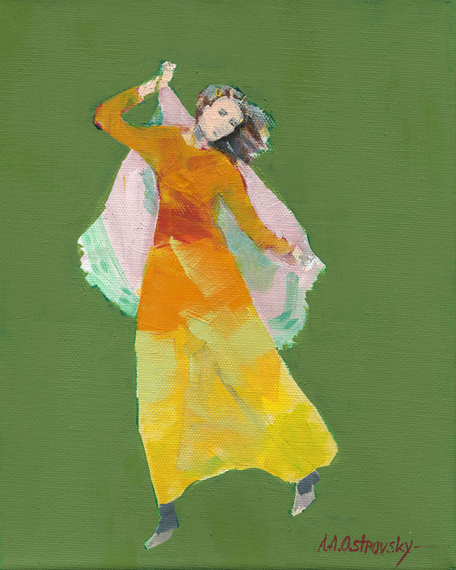 Green Dancer Study