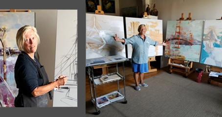 Preparing For September 1st Gallery Showing