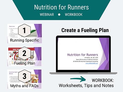 Nutrition for Runners Webinar & Workbook