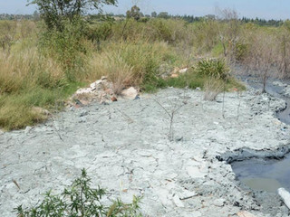 Curtiembres. Tiraban contaminantes cerca del río Suquía