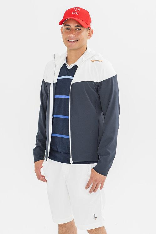 Tee-chi メンズパーカージャケット <NAVY>