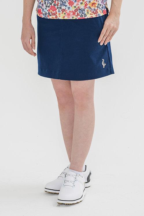 Tee-chi レディーススカート <千鳥><BLUE>