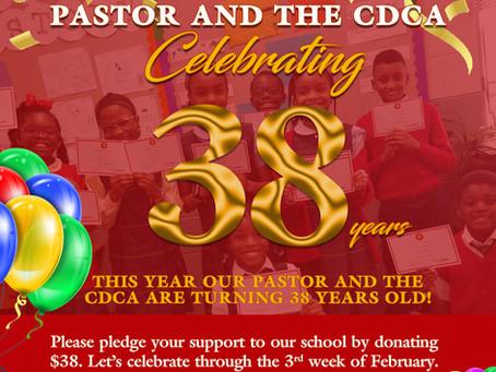 38th Year Celebration!