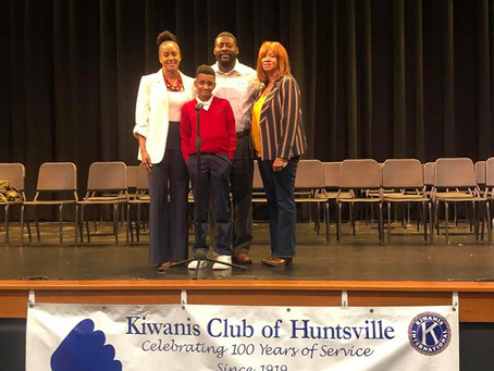 Congratulations to Christian Scruggs, the WINNER of the ALABAMA CITY WIDE SPELLING BEE