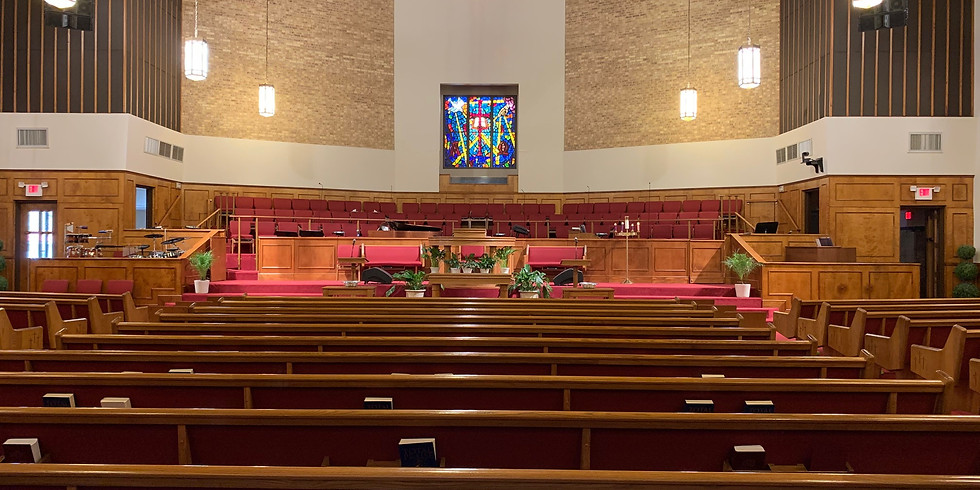 In-Person Easter Service Registration