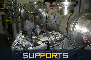 Supports vacuum chambers