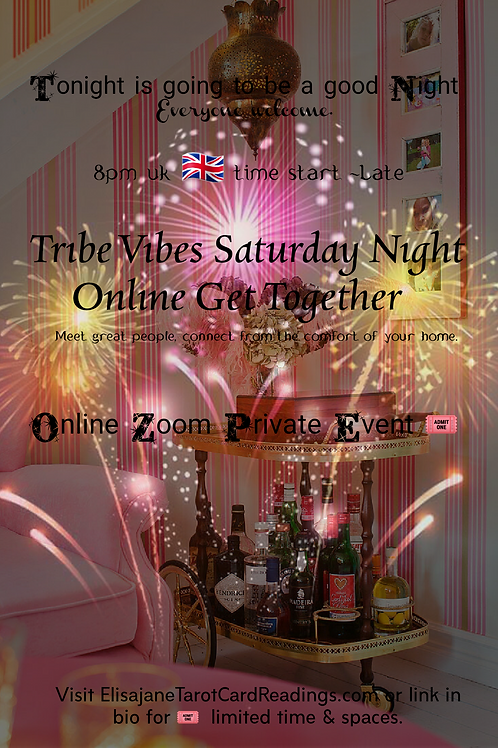 Online Zoom Party( After Hours Event With the Tribe)