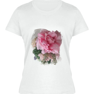 Pink Floral T