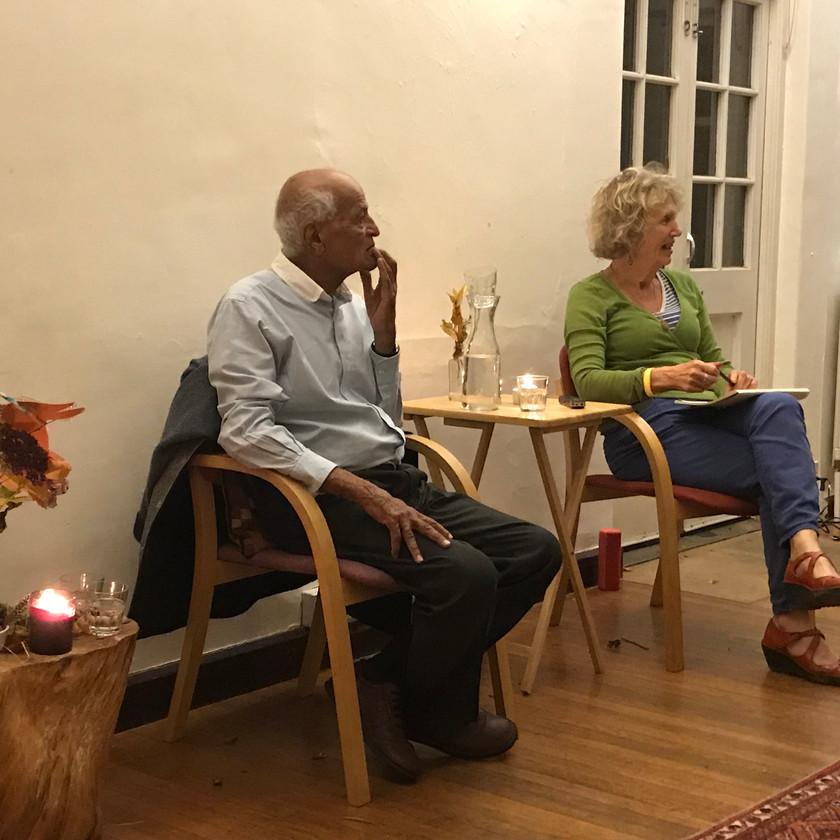 Soirée avec Satish Kumar et Jenny MacKewn