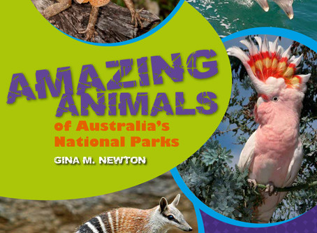 Your invitation to the launch of Amazing Animals of Australia's National Parks